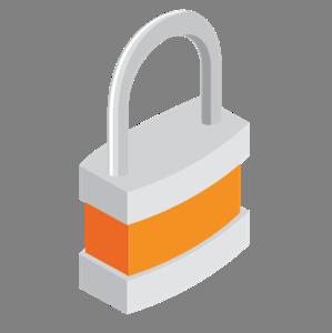 Lock-Orange-Icon