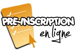 Pré inscription en ligne
